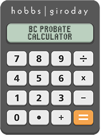 BC Probate Calculator