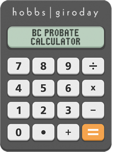 Hobbs Giroday BC Probate Calculator