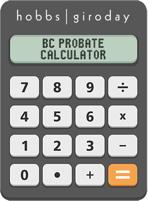 The Hobbs Giroday BC Probate Calculator